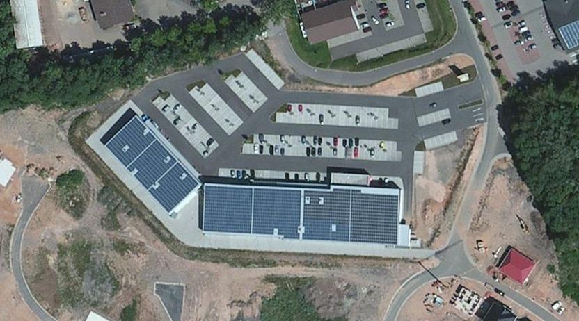 Solaranlage Schwalbach 477kWp